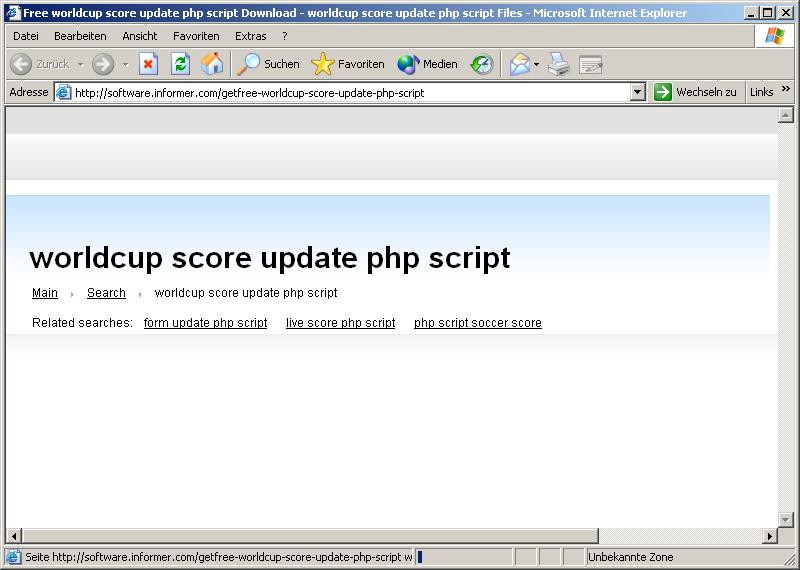 World Cup 2010 SEO Site includes ZEUS Botnet! | Fighting Malware!